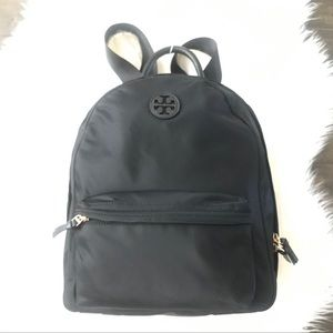 {Tory Burch} Ella Black Nylon Backpack